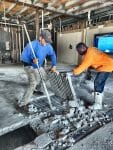 Chipping Concrete