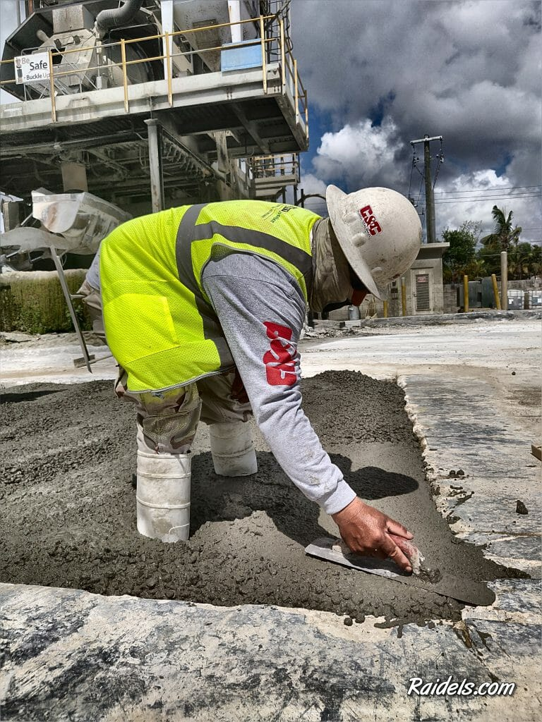 Concrete Finishing in Miami