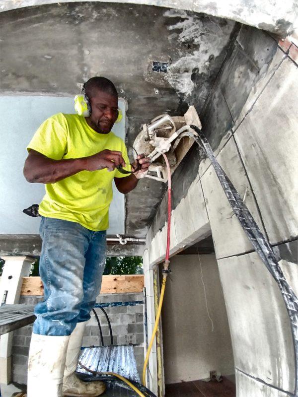 Cutting Shear walls