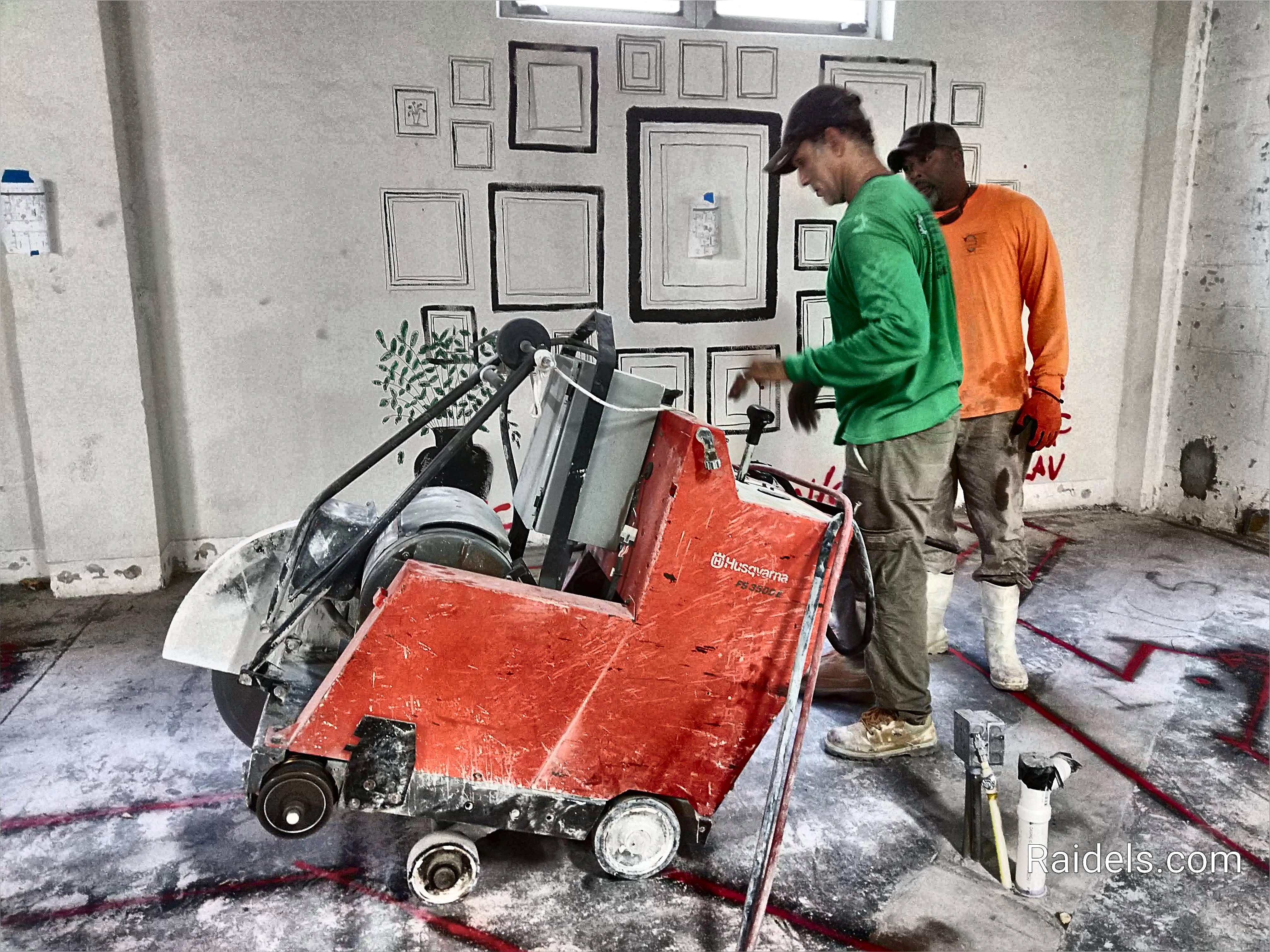 Cutting Indoors