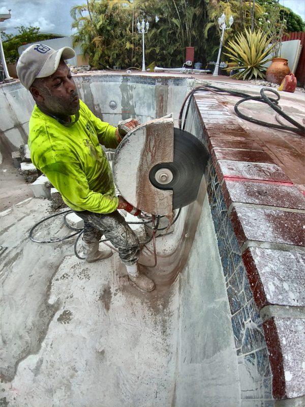 Cutting a Pool
