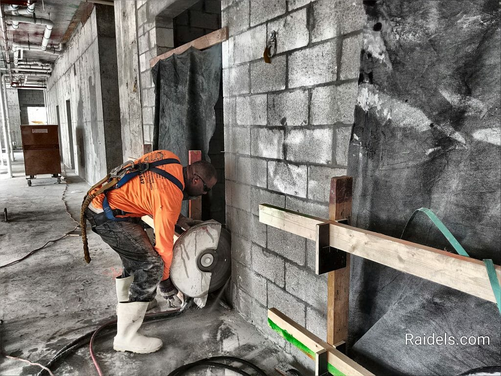 Handsawing Walls