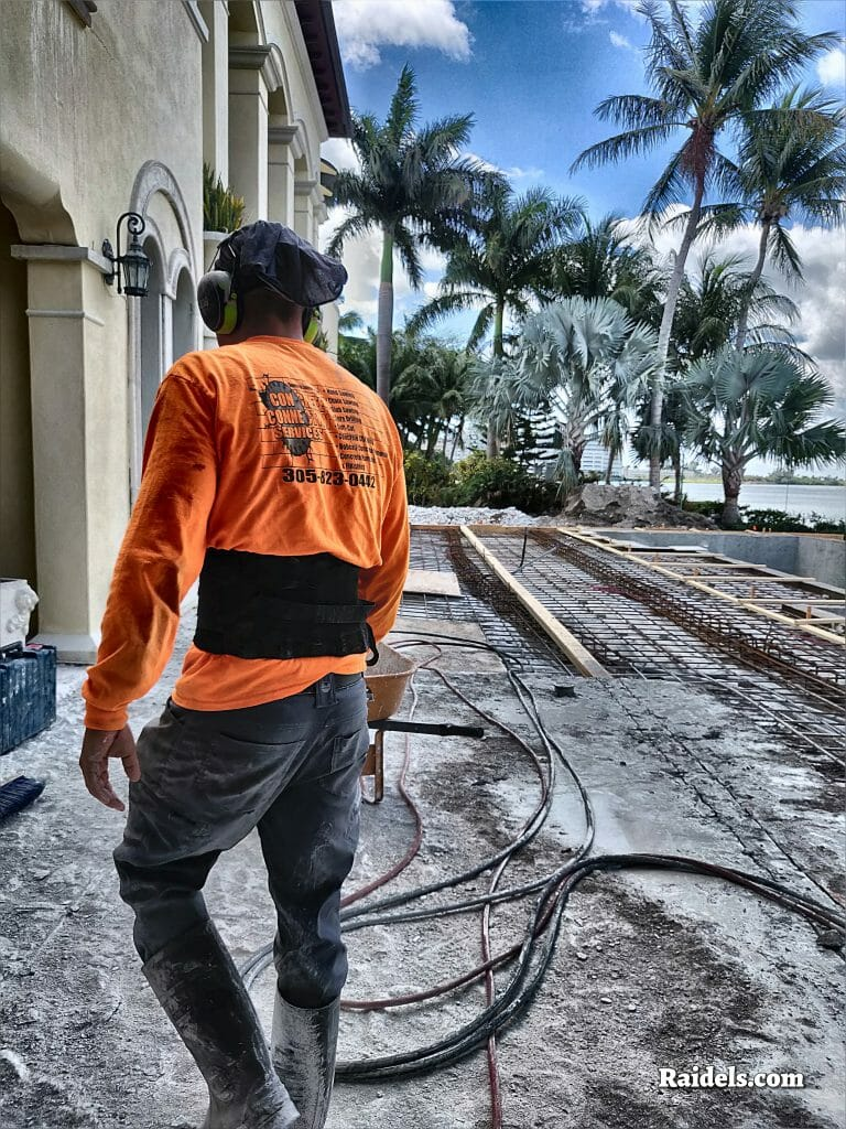 concrete cutting in Miami Beach