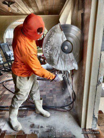 Cutting Door