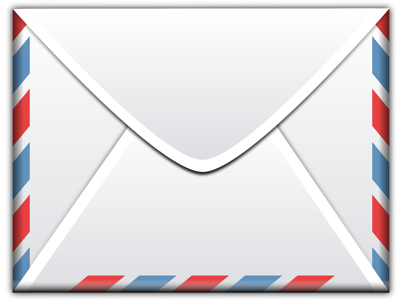 letter, mail, email